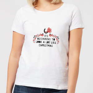 It's Beginning To Look A Lot Like Christmas Women's T-Shirt - White