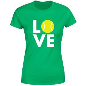 Love Tennis Women's T-Shirt - Kelly Green