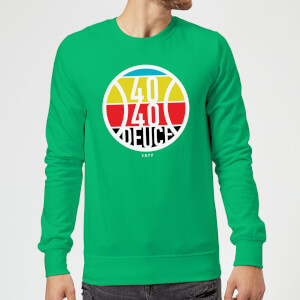 40 40 Deuce Sweatshirt - Kelly Green