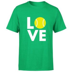 Love Tennis T-Shirt - Kelly Green