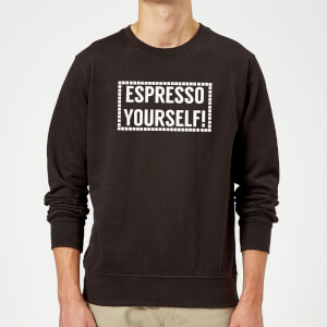 Espresso Yourself Sweatshirt - Black