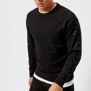 Diesel Men's Willy Sleeve Logo Sweatshirt - Black