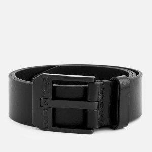 Diesel Men's Bluestar Leather Belt - Black/Zama Nera