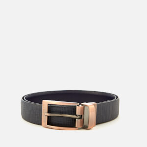 Ted Baker Men's Kong Reversible Belt - Navy
