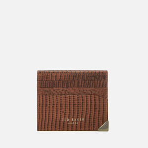Ted Baker Men's Lizard Card Holder - Tan