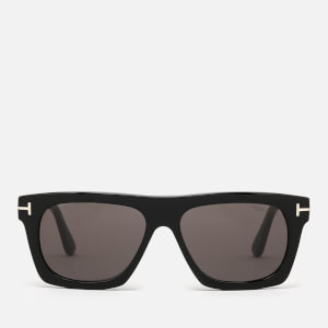 Tom Ford Men's Ernesto Square Frame Sunglasses - Coloured Havana/Green