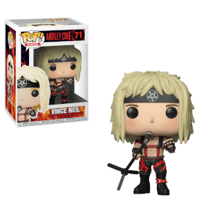 Pop! Rocks Motley Crue- Vince Neil Pop! Vinyl Figure
