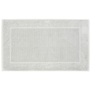 Christy Supreme Hygro Bath Mat - Set of 2 - Silver