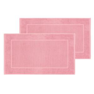 Christy Supreme Hygro Bath Mat - Set of 2 - Blush