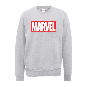 Sweat Homme Logo Principal - Marvel - Gris