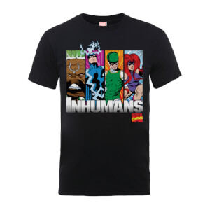 Marvel Comics Inhumans Men's Black T-Shirt