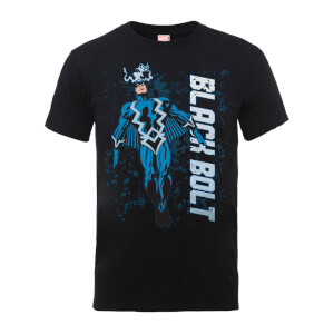 Marvel Comics Black Bolt Men's Black T-Shirt
