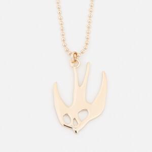 McQ Alexander McQueen Women's Swallow Pendant - Gold