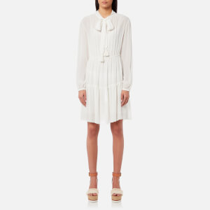 See By Chloé Women's Silk Tassel Dress - Snow White