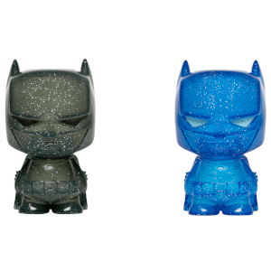 Batman Blue and Grey Hikari XS Vinyl Figure 2 Pack