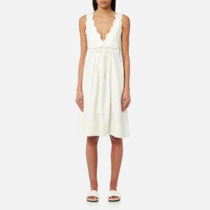 Isabel Marant Women's Wilby Wavy Vintage Dress - Ecru