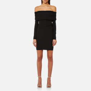Bec & Bridge Women's Auriele Off the Shoulder Dress - Black