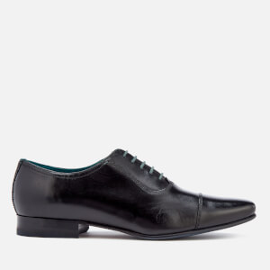 Ted Baker Men's Karney Leather Toe-Cap Oxford Shoes - Black
