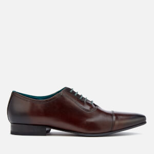 Ted Baker Men's Karney Leather Toe Cap Oxford Shoes - Brown