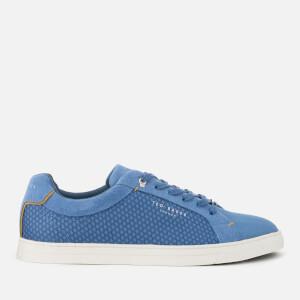 Ted Baker Men's Sarpio Cupsole Trainers - Blue Textile