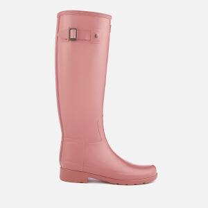Hunter Women's Original Refined Gloss Wellies - Pale Rose