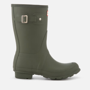 Hunter Women's Original Short Wellies - Dark Olive