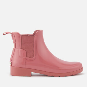Hunter Women's Original Refined Gloss Chelsea Boots - Pale Rose