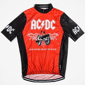Primal AC/DC for Those About to Rock Helix Jersey - Black/Red