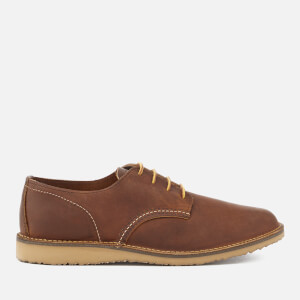 Red Wing Men's Weekender Leather Oxford Shoes - Copper Rough & Tough
