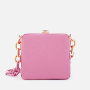 The Volon Women's Cube Chain Bag - Pink