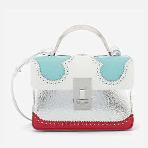The Volon Women's Data Alice Small Bag - White & Mint