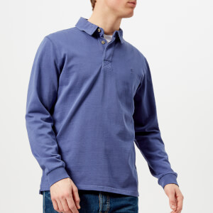 Joules Men's Parkside Rugby Shirt - Skipper Blue
