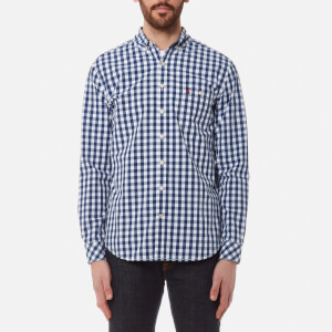 Joules Men's Hewney Long Sleeve Shirt - Navy