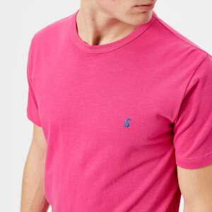 Joules Men's Laundered T-Shirt - Summer Pink