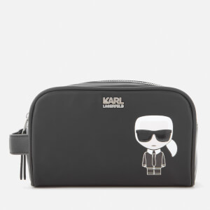 Karl Lagerfeld Women's K/Ikonik Washbag - Black