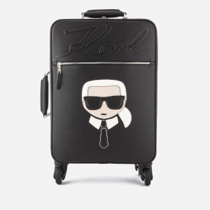 Karl Lagerfeld Women's K/Ikonik Trolley Bag - Black