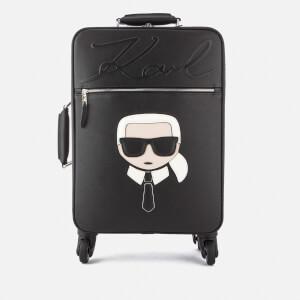 Karl Lagerfeld Women's K/Ikonik Trolley Bag - Black