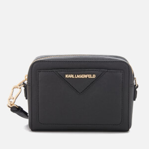 Karl Lagerfeld Women's K/Klassik Camera Bag - Black/Gold