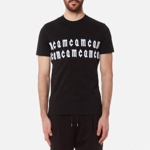 McQ Alexander McQueen Men's McQ Script Logo T-Shirt - Darkest Black