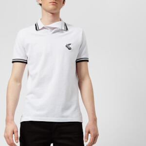 Vivienne Westwood Anglomania Men's Pique Polo Shirt - White