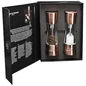 Cole and Mason Gourmet Precision Derwent Salt and Pepper Mill Gift Set – Copper