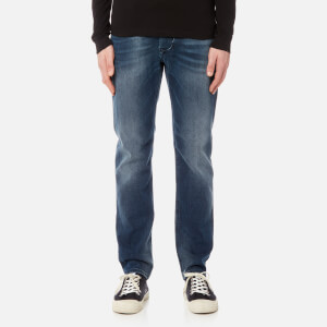 Diesel Men's Larkee-Beex Tapered Denim Jeans - Blue
