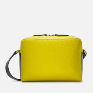 Orla Kiely Women's Flower Stem Emboss Abby Cross Body Bag - Sunshine