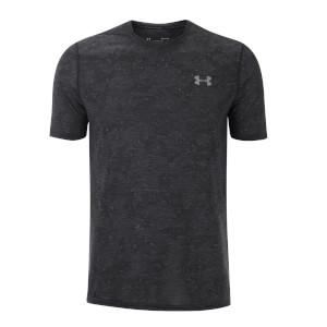 Under Armour Men's Threadborne FTD Printed T-Shirt - Black