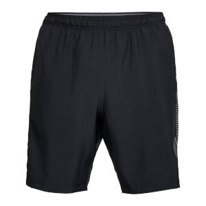 Under Armour Men's Woven Graphic Shorts - Black