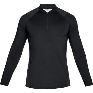 Under Armour Men's MK1 1/4 Zip Long Sleeved Top - Black