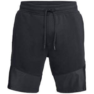 Under Armour Men's Threadborne Terry Shorts - Black