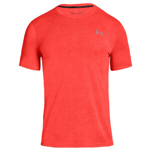 Under Armour Men's Threadborne FTD Printed T-Shirt - Red