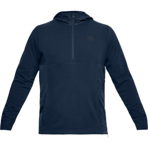 Under Armour Men's Threadborne Terry Hoody - Navy