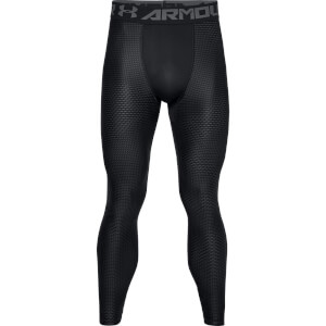 Under Armour Men's HG Armour 2.0 Novelty Leggings - Black